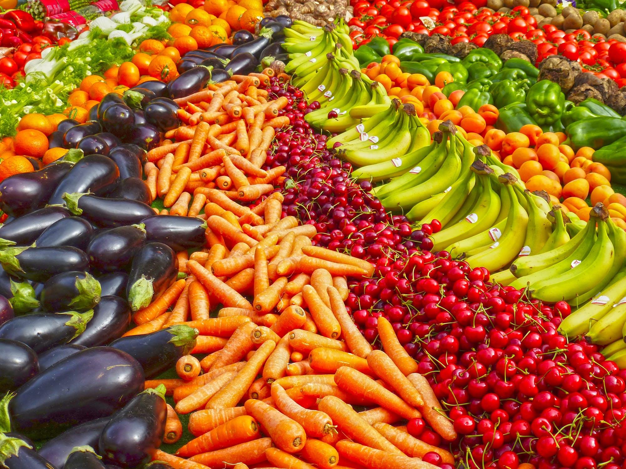 Τι χρώμα έχει το φαγητό σου;